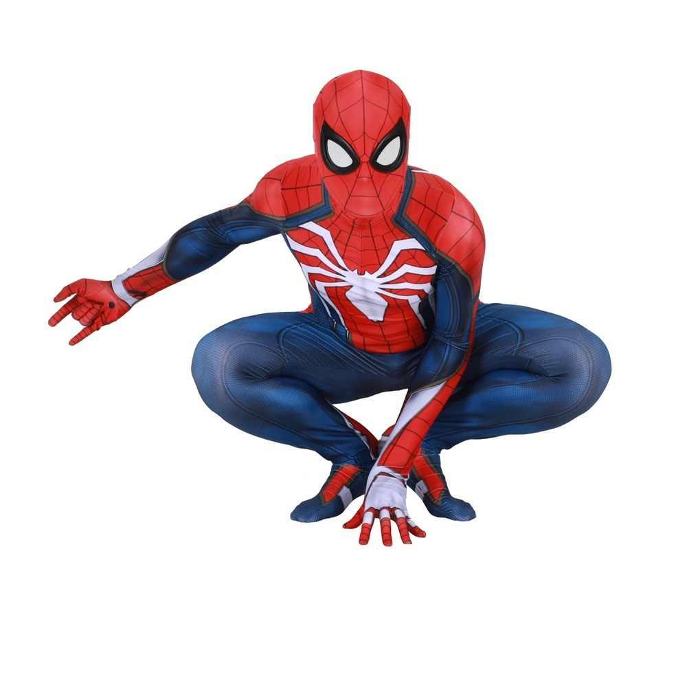 Halloween Insomniac juegos Spiderman Cosplay disfraz Zentai Spider Man superhéroe traje mono monos