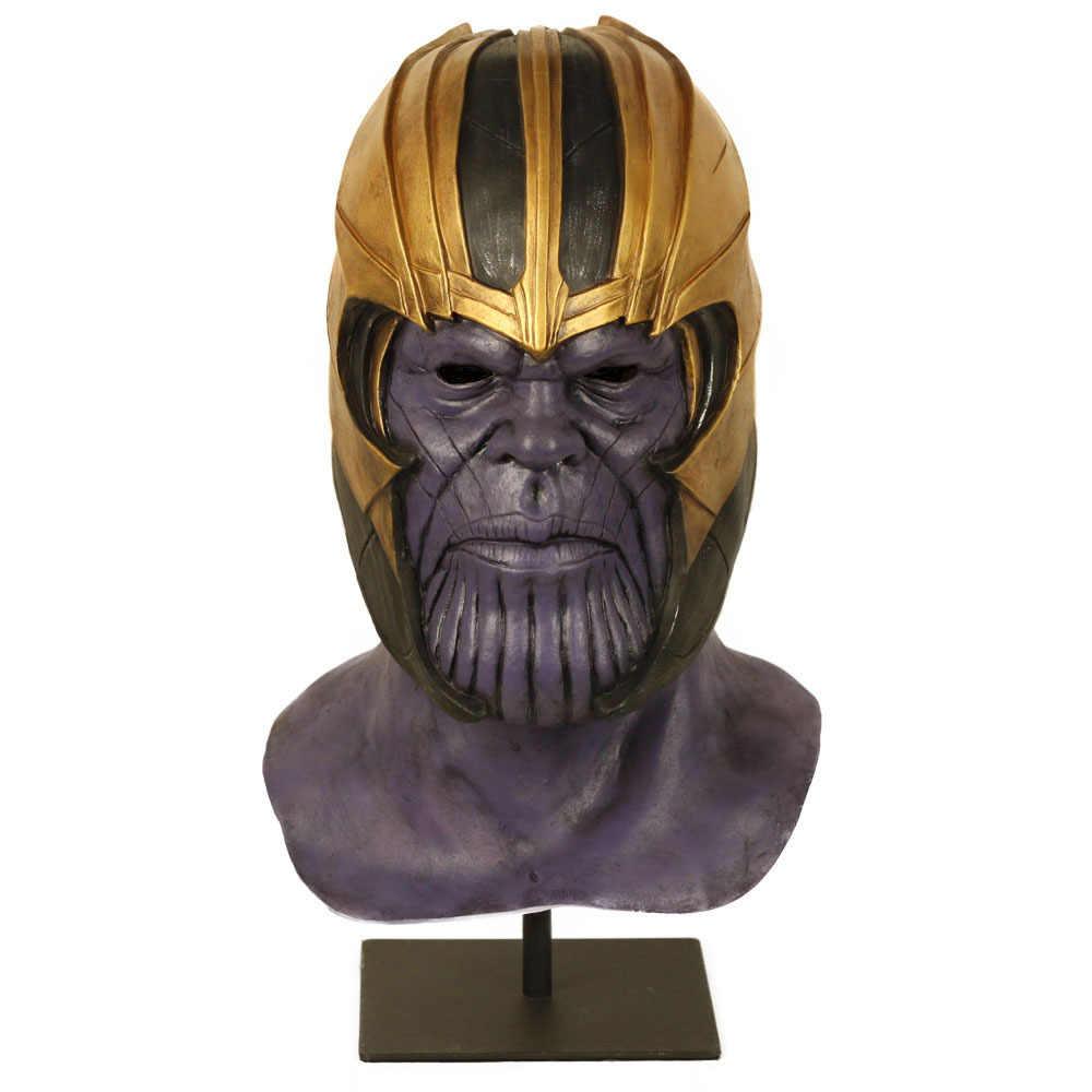 Avengers 4 Endgame Iron Man Infinity Gauntlet Hulk Cosplay Arm Thanos Latex Gloves Arms Mask Superhero Thanos Weapon Party Props