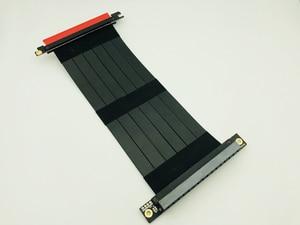 Image 3 - Cabo extensor flexível pci express 3.0 16x, alta velocidade, pc, placas gráficas, conector, cabo 23cm pcie riser