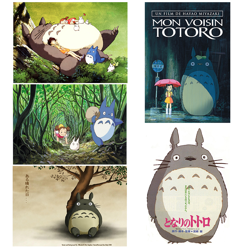 Tonari no Totoro Classic Cartoon 20/pcs Laptop Sticker Home Decor Styling Wall Travel Su ...