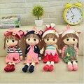 45 cm Animales de Peluche Muñeca de La Muchacha de Hadas de rapunzel muñeca regalo de cumpleaños Regalos de Boda Para Los Niños
