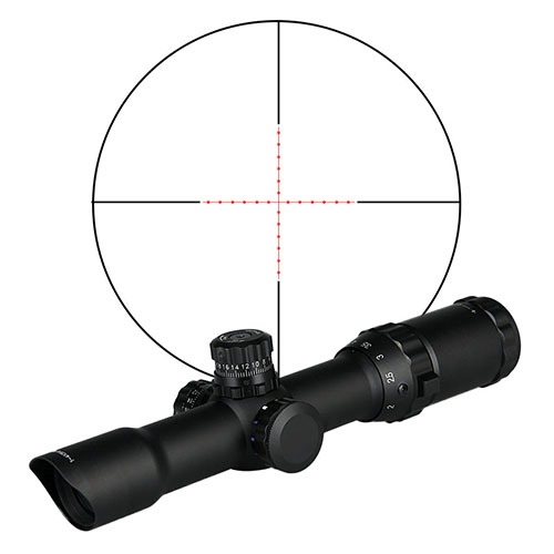 PPT  Hot Sale 1.5-4*28L Optic Rifle Scope With Illumination For Hunting HS1-0155