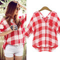 NEW Women's Loose Long Sleeve Chiffon Casual Blouse Tops Fashion Blouse