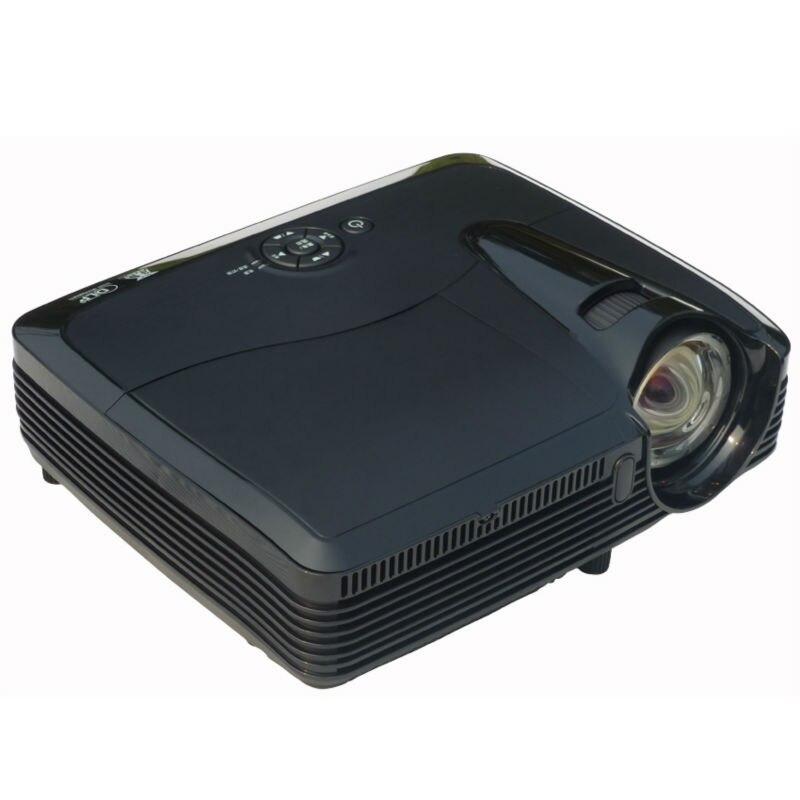 Proyector DLP 1024 * 768 resolución nativa de enfoque corto proyector 1 m distan