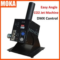Moka dry ice fog machine Co2 jet spray machine dmx fog machine adjustable angle co2 gas machine