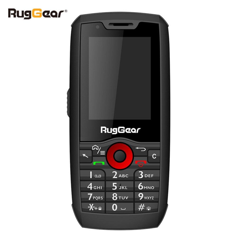 RugGear RG160 Robuste Téléphone Intelligent Android RG160Pro avec Écran Tactile