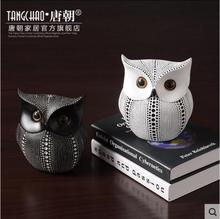 Northern Europe ornaments modern minimalist home office decorations soft resin creative crafts owl