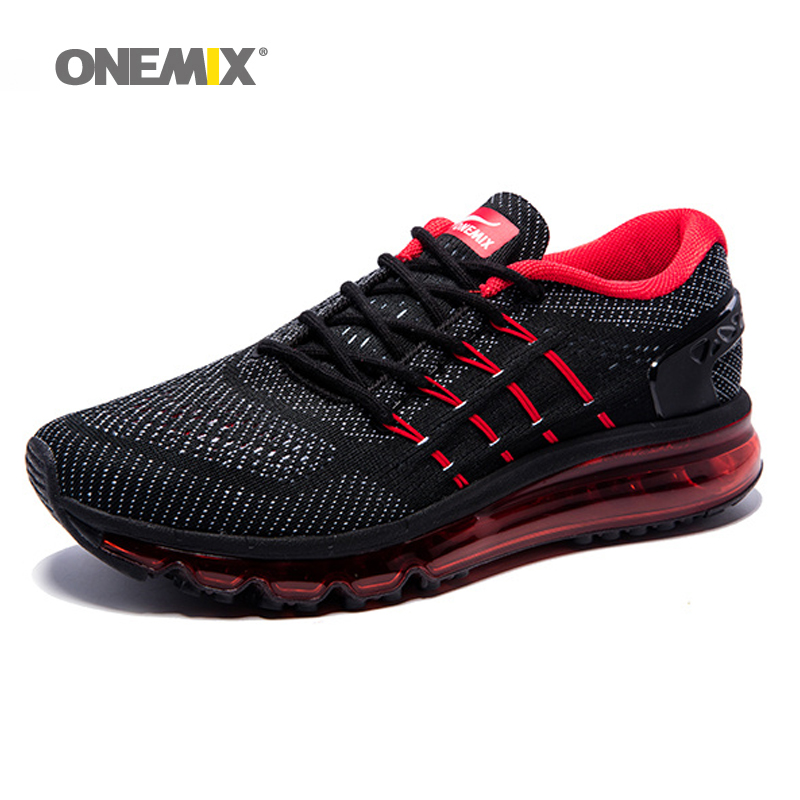 2017 Air Cushion Running Shoes Breathable Massage Sneakers Man Jogging Sport Sneakers for Outdoor Walking Shoe Run Comfortable onemix air men running shoes nice trends run breathable mesh sport shoes for boy jogging shoes outdoor walking sneakers orange