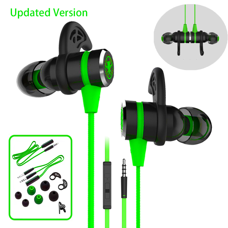 2019 New G20 Hammerhead Bass Gaming Headphones With Microphone Magnetic Gaming Headset Gamer Fone De Ouvido Earphone For Phone