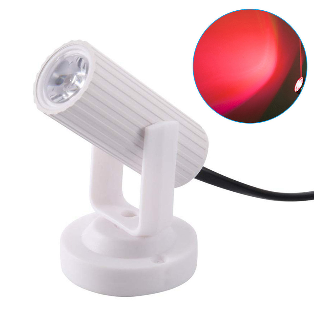 1W banquete escenario luz KTV ultraligero Mini LED Super brillante efecto lámpara Pinspot Bar plástico fiesta DJ Disco ahorro de energía 5 uds 4mm/0,16