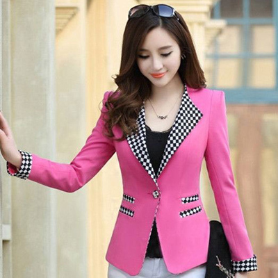 2013 Autumn Summer New Korean Fashion Brands Long Slim Blazer ...