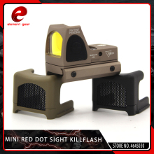 цены Element Airsoft Tactical Mini RMR Reflex Optics Red Dot Sight Scope Cover Anti-Reflection Alu Kill Flash Hunting RMR Killflash