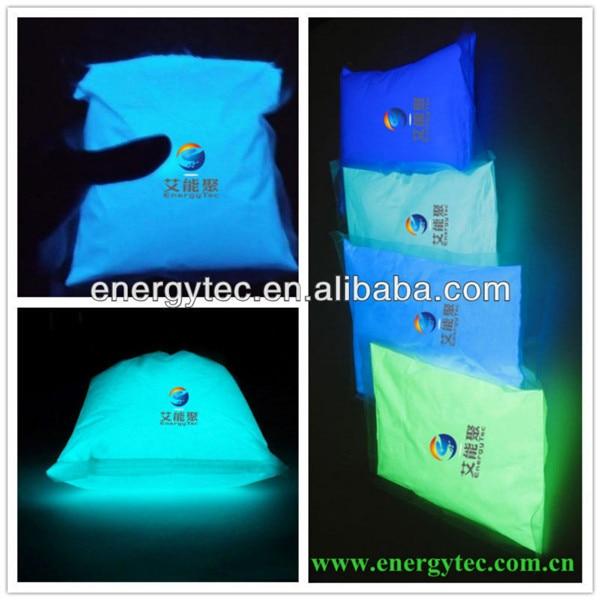photoluminescent pigment glow powder