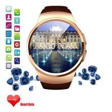 MTK2502C KingWear Kw18 Smart Touch Uhr unterstützung Pulsmesser Sim tf-karte Smartwatch IOS android OS VS iwo W51 G3 G4 uhr