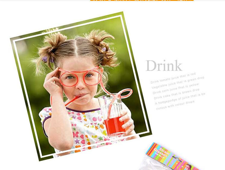 Hot-Sale-Funny-Drinking-Straw-glasses-Frames-for-party-favor-Novelty-items-Amazing-Silly-multi-colors