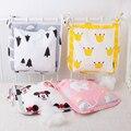 Nuevo estilo Cochecito de bebé Multifuncional Colgando Bolsa De Almacenamiento Organizador bolsa de Pañales Para La Momia Viajar 31*31 cm