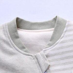 Image 3 - Sac de couchage bébé manches complètes nouveau né sac de sommeil 72*40cm bébé dormeur 0 12 mois