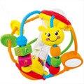 Кэндис го! многофункциональные красочные детские игрушки безопасности пластиковые схватив мяч погремушки бисер разработки игры детские игрушки подарок 1 шт.