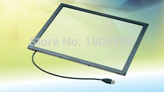 17 inch 2 points IR touch screen / IR touch panel for touch table, kiosk etc