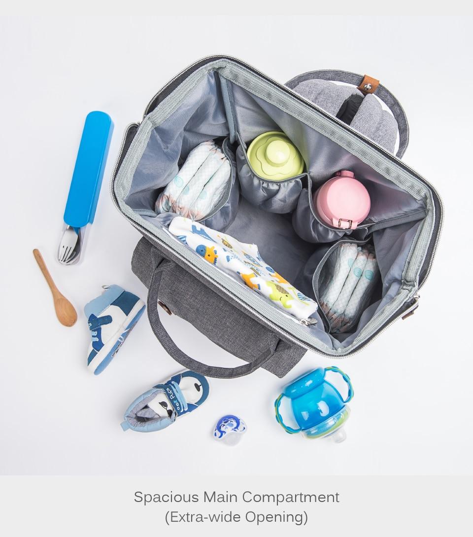HTB1.oWWlYZnBKNjSZFrq6yRLFXaJ Alameda Fashion Mummy Maternity Bag Multi-function Diaper Bag Backpack Nappy Baby Bag with Stroller Straps for Baby Care