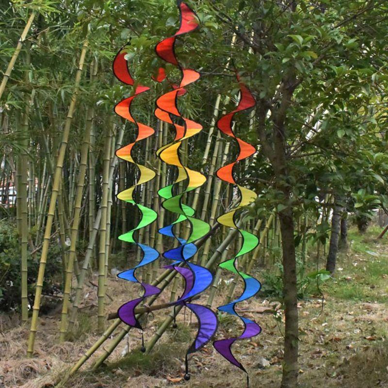 Открытый Висячий Радужный вращающийся вертикальный красочный ветряная мельница детский сад декоративные веревочки фестиваль макет поставки