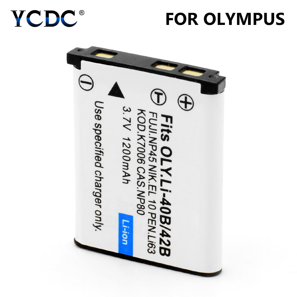 UK Battery for OLYMPUS TG-310 LI-40B LI-42B 3.7V RoHS
