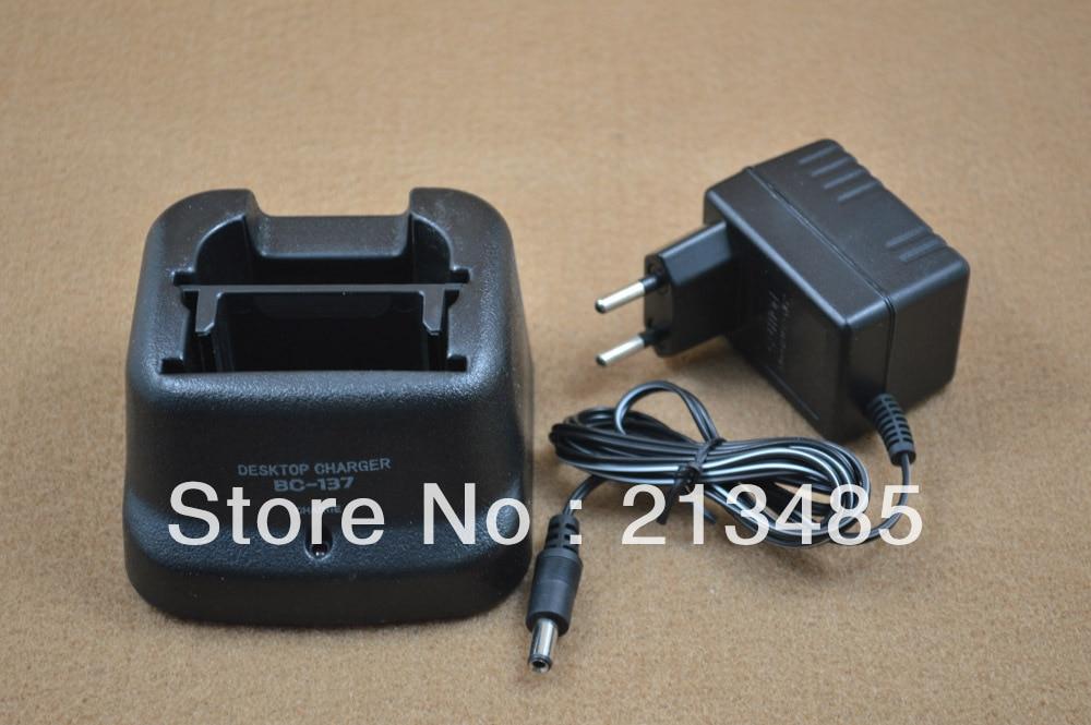imágenes para Bc-137 cargador para ICOM IC-A6 IC-A24 IC-V8 IC-V82 IC-U82 ic-f3gt, ic-f4gt, ic-f30gt, IC-F40GT