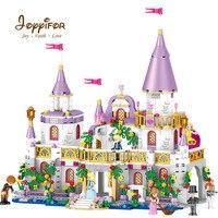 Joyyifor 731PCS Building Blocks Princess Prince Castle Bricks Compatible LegoINGlys for Girl Friends Christmas Gift Toys QL1106