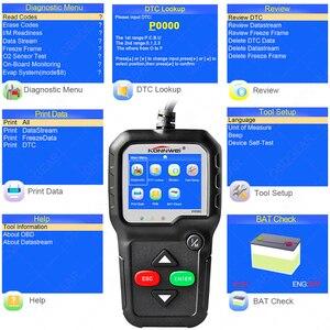 Image 3 - 2020 Best Quality OBD2 Car Diagnostic Scanner KONNWEI KW680s Full OBD 2 Function Car Scanner  Car Diagnostic Tools  For the Car