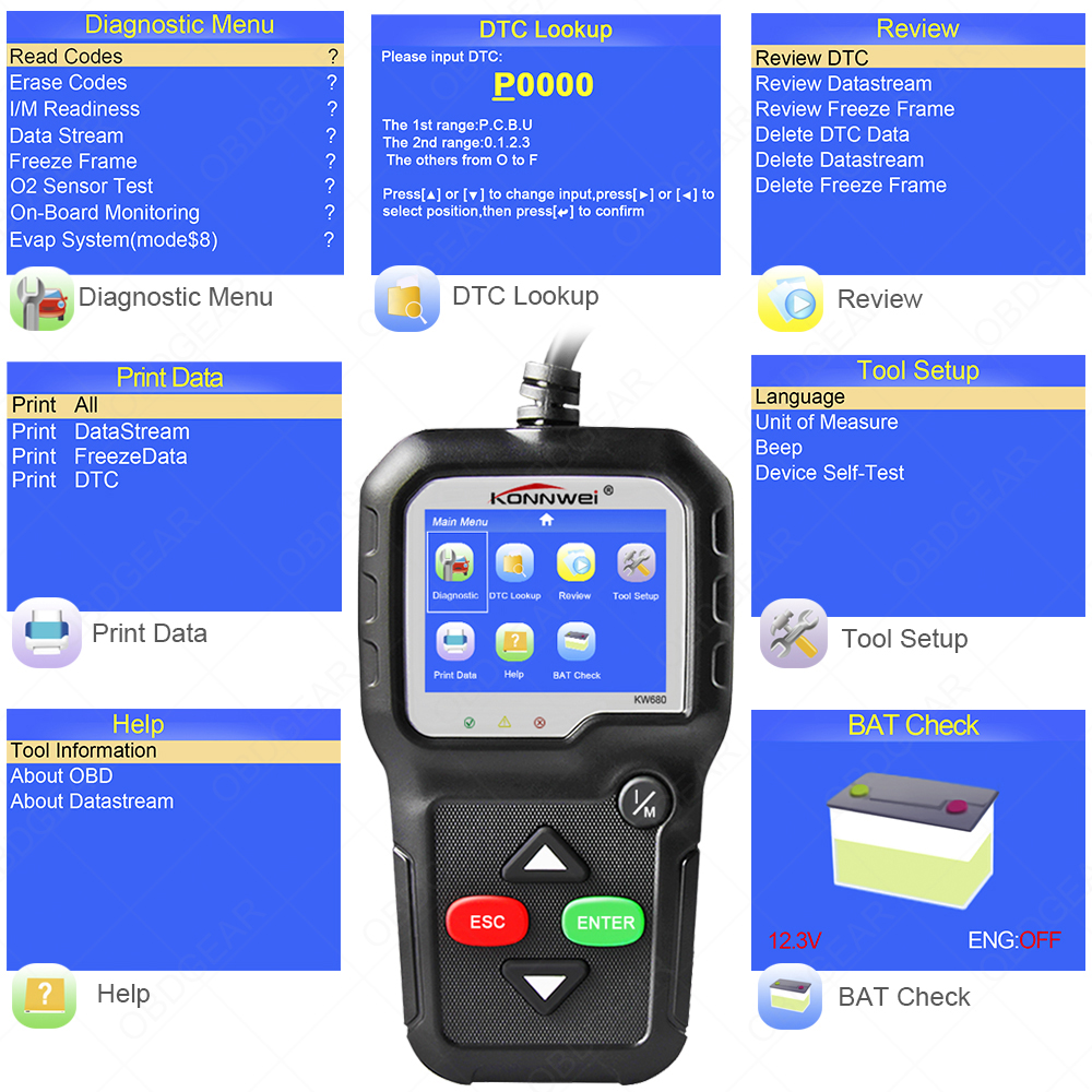 cheapest X100 PAD2 OBD2 Auto Key Programmer Odometer Correction Tool Code Reader Car Diagnostic tool with Special Function Update online