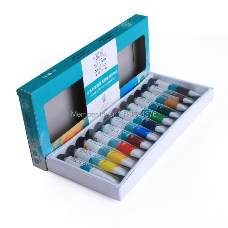 Forró eladó 12 szín Nail Art tippek festék cső pigment felhívni - Köröm művészet - Fénykép 2