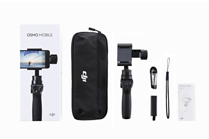 Aliexpress.com : Buy DJI OSMO Mobile Handheld Gimbal Stabilizer for iPhone 7 with DJI GO app VS Zhiyun Smooth C DJI OSMO Mobile from Reliable stabilizer ...
