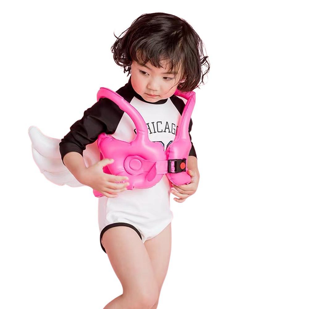 Kidlove Cute Cartoon Wing Unisex Children Lifejacket Buoyancy Vest For Swimming
