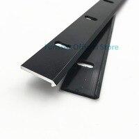 Funssor openrail makerslider V slot rail aluminum extrusion 500mm length per pcs black anodized Fast Ship