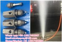 30 degree ultrasonic mist fog spray nozzle,Nebulizer nozzle ,Industrial dust control dry mist fog ultrasonic nozzle spray