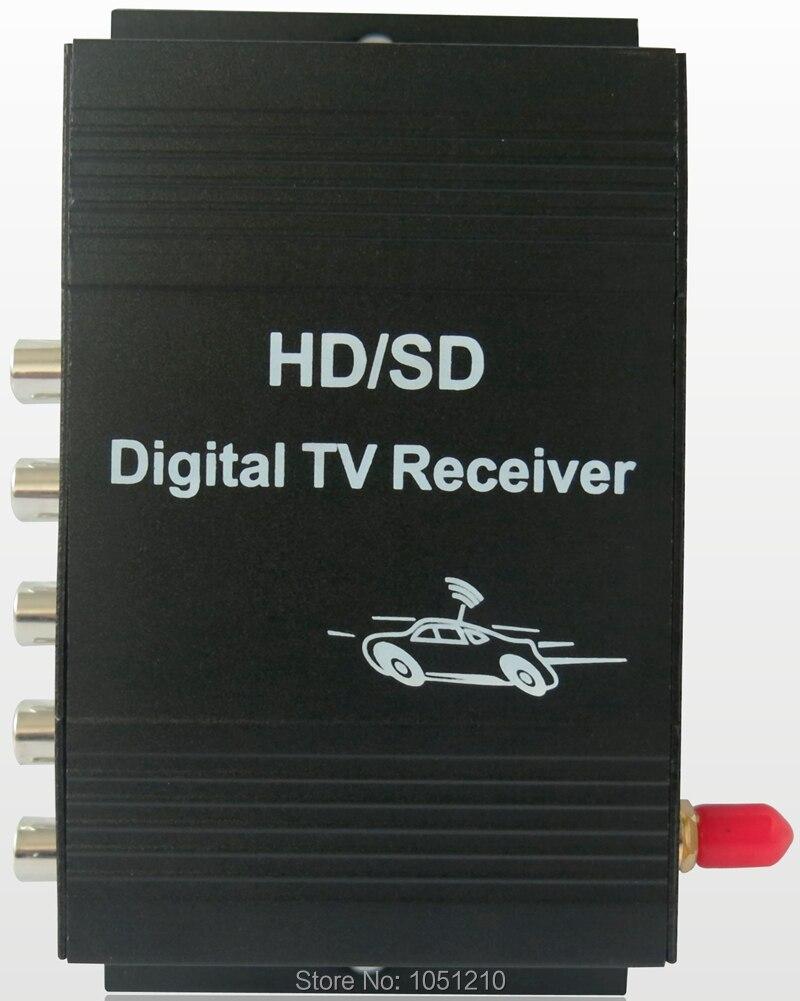 Ouchuangbo HD universel récepteur de télévision numérique de voiture ISDB-T pour le brésil pérou amérique du sud équateur