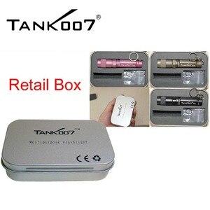 Image 5 - E09 led Flashlight * XP E R3 3Mode Waterproof ipx8 Dustproof White LED Mini Torch(By 1x10440 / AAA Battery) Iron box lantern