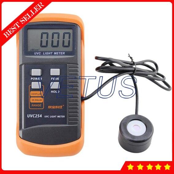 Light Intensity Meter : Digital lux meter uvc light of uv radiometer