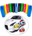 60CM*30CM Auto Car Light Headlight Taillight Vinyl Film Sticker Transparent Film Car Light Change Color Tint Film Stickers