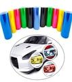60CM*30CM Auto Car Light Headlight Taillight Vinyl Film Sticker Transparent Film Car Light Change Color Tint Film Stickers