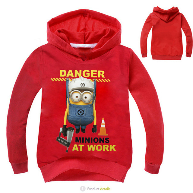 Nuevo 2016 Niños Hoodies Secuaces Ropa Camisetas de Los Niños para Los Muchachos Niños Sudaderas Con Capucha Tops Traje para 3-10yrs Niña