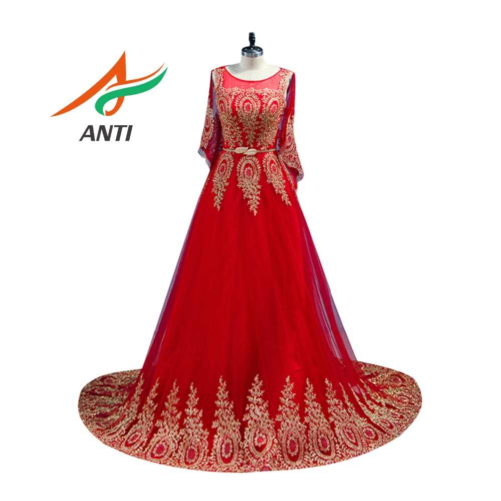 be3070f729afe Detail Feedback Questions about SOCCI Evening Dress Elegant Red and ...