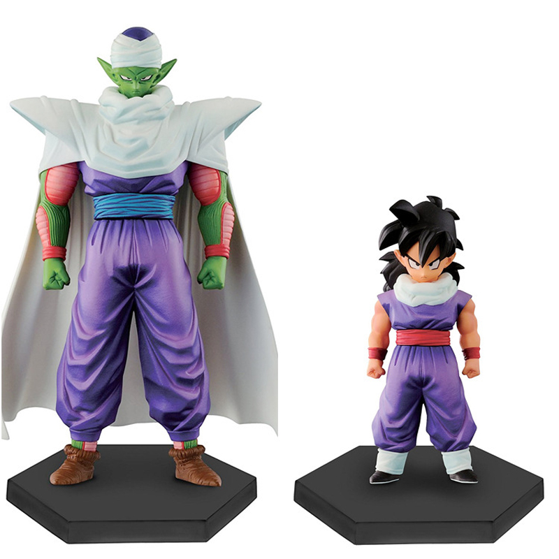 2pcs/set Figurines Japanese Dragon Ball Z Son Gohan & Piccolo Action Figures PVC Figures Collectible Model Toys Kid Adult Gifts shfiguarts anime dragon ball z son gokou movable pvc action figures collectible model toys doll 18cm dbaf094