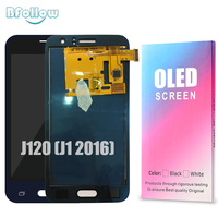BFOLLOW Original OLED for Samsung Galaxy J120 (J1 2016) AAA Screen Display Digitizer Assembly LCD Replacement J120F J120M J120H