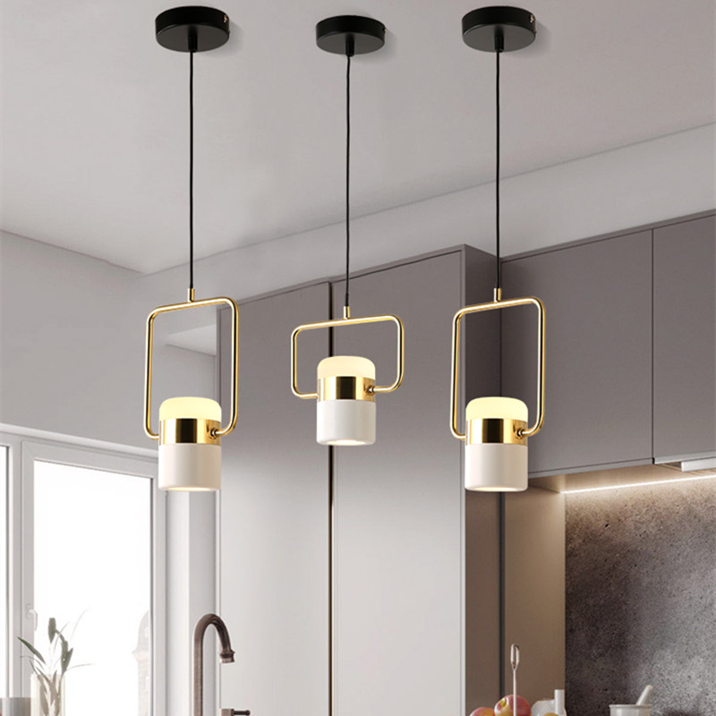 Nordic style boutique fashion personality creative restaurant bedroom bar cafe shop pendant lamps 7W led