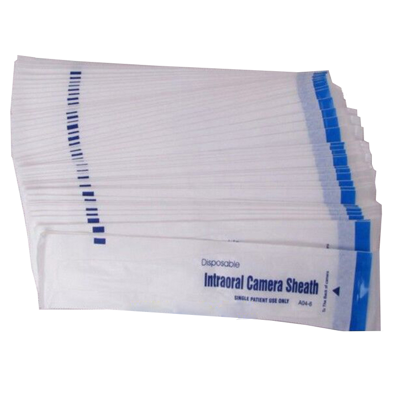300pcs 3 boxes Disposable Intraoral Camera Sheath Dental Oral Endoscope Sheath Cover Intraoral Camera Sleeves Dentist