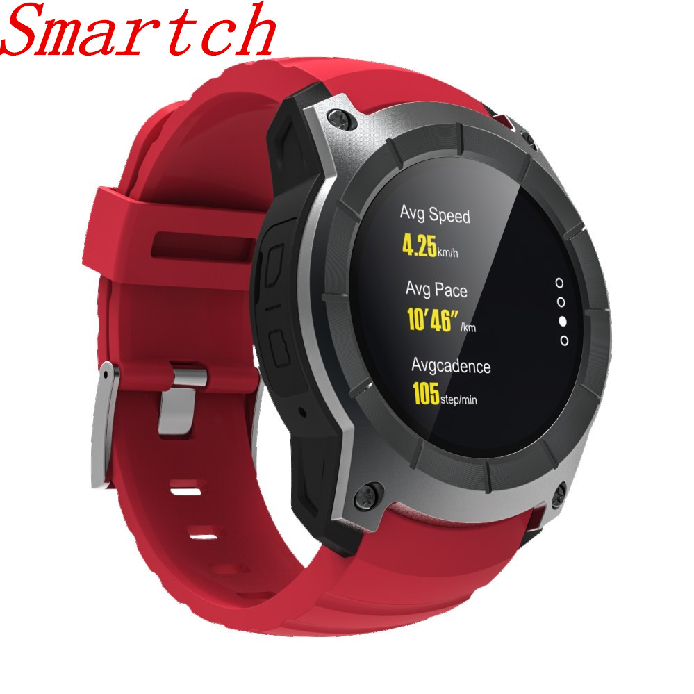 Smartch S958 GPS Smart Btuetooth Watch Color Screen SIM GSM Bluetooth Multi-Sport HR Watch Phone Support for IOS 8+ / for Androi i5 gsm wrist watch phone w 1 8 resistive screen quad band single sim and fm black