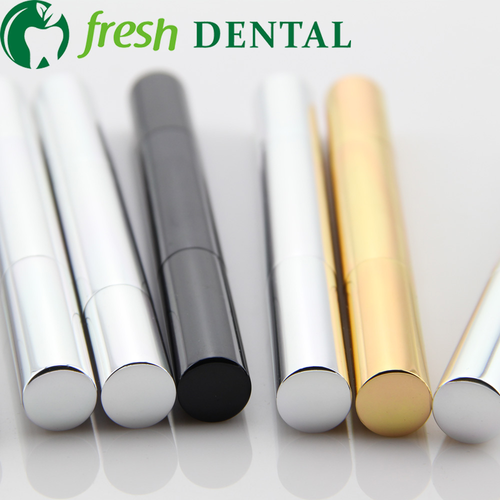 50 Pcs Teeth Whitening Pen 2 Ml 35 Cp Gel Clareador Seringa Cha
