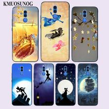 Transparent Soft Silicone Phone Case Peter Pan wendy Tinkerbell for Huawei Mate 20 10 Pro Lite