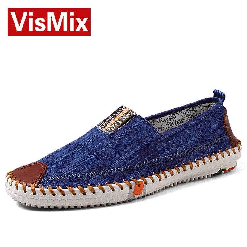 2016 nuevos Mens zapatos de lona moda Casual verano para hombre zapatos planos clásicos zapatos sin